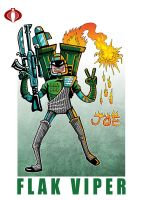 G. I. Joe Fan Art: Flak Viper by ehudsbloodysword