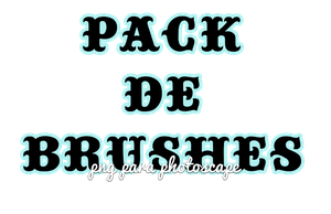 Pack de Brushes para PNG by CarlyyDesigns