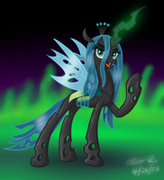 Queen Chrysalis by AleximusPrime