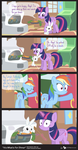 Comic Block: It's What's For Dinner by dm29