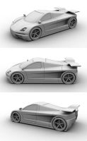 Concept Supercar by arattansi