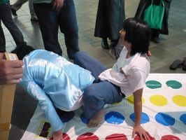 Fun with Twister by seraphinx