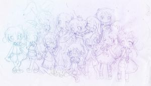 OCs Group pic by Ab-anna