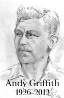 Andy Griffith by Graymalkin2112