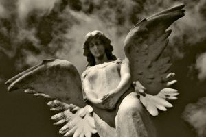 Angels Watching Over Me IV by touch-the-flame