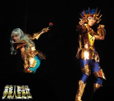 Cosplay Cancer DeathMask by StormSoon