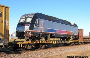 New Jersey Transit Electric engine #4512 in ILL by EternalFlame1891