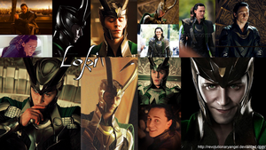 Loki Wallpaper by RevolutionaryAngel