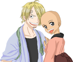 Sanji couple base by Simply-a-pirate