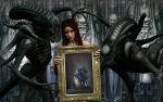 In remembrance of H.R.Giger by Evinessa