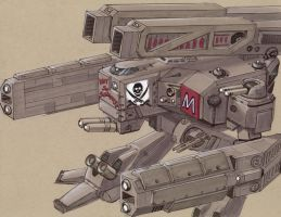 Arbalest AMW-067 E Pirate by Jepray