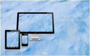 Wallbundle 5 : Snow Ground by songe