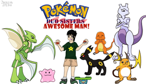 Pokemon Sista's brother trainer by 2wolfan