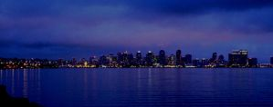 San Diego at Night by starrys