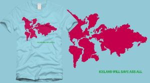 Iceland will save ass all tee by Serensdipity