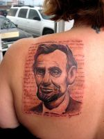 Abraham Lincoln Portrait by catbones