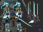 Blue Knight Adoptable Auction - CLOSED by xKyteh