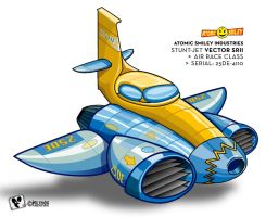 Vector Jet by wiledog
