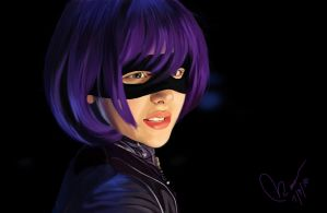 Hit Girl by toinktoink