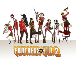 Fortress Hill 2 by pinappleapple