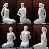 the sitting model - 1 by airglow