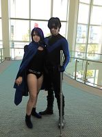 Raven and Nightwing AX 2013 by Madness-Made-Fresh