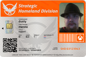 my division IDcard by theunknownemo