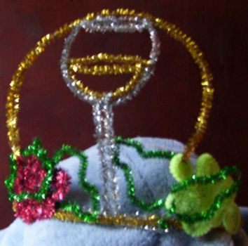 Wine tiara by pipecleaner-princess