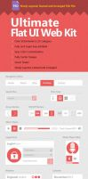 Ultimate Flat UI Web Kit by Reza-Hafezi