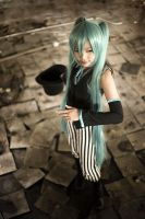 VOCALOID . The Trickster by strawdoll