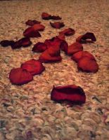 ~Dead rose pedals~ by Nikky95
