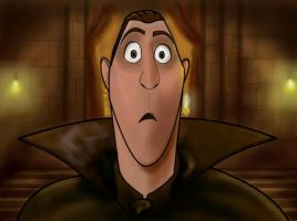 How to draw Dracula of Hotel Transylvania  Part 3 by SketchHeroes