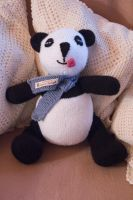 Hand knitted Peter Panda Bear by Supach