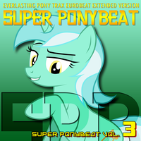 Super Ponybeat Vol. 3 Lyra Cover Variant by TheAuthorGl1m0