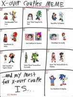 X-Over Couples Azumanga and Sonic Edition by Dancrew2010