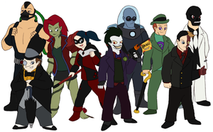 Rogues of Gotham by Gaiash
