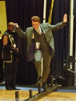 SC12 Bruce Wayne: Tightrope Walker by Group-Photos
