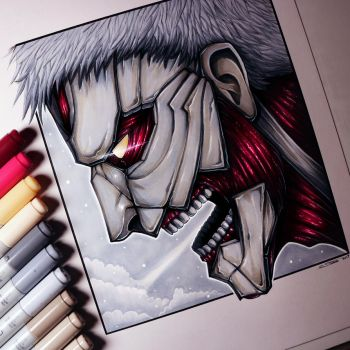 Armored Titan - Drawing by LethalChris