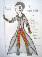 Daxos - The Unpredictable Foe by Number-14