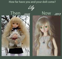 Dolly Update Meme - Lily by Sheilagold