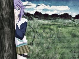 Mizore wallpaper by VampireTragedyLover