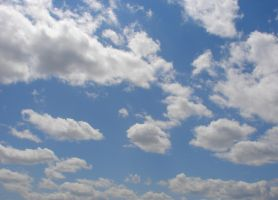 Wild Blue Yonder Sky Clouds 14 by FantasyStock