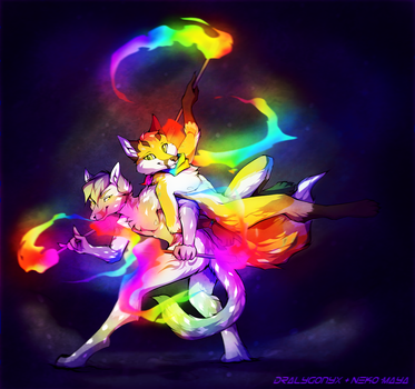 Double Rainbow [COLLAB] by Neotheta