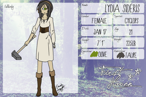 First-Haven App: Lydia by Zanyzarah