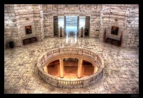 Capital's Second Floor HDR by joelht74