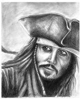 Jack Sparrow Sketch by vivsters