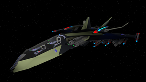 MX02S Rapid Response Star Fighter by Marksman104