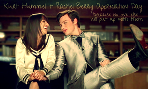 Kurt Hummel and Rachel Berry by Maricuchi123