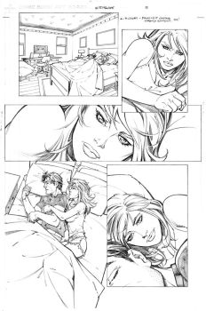 Witchblade Finale page 16 pencils by RandyGreen