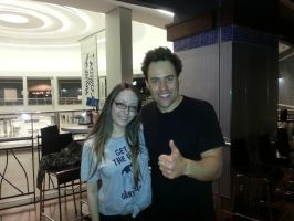 1st pic with Orny Adams by LightninBluEyes